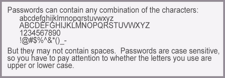 password selection advice